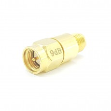 SMA 9dB 1W Fixed Attenuator