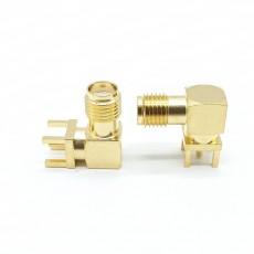 6GHz SMA(F) RA 4R PCB(4R깊이: 4.0mm)