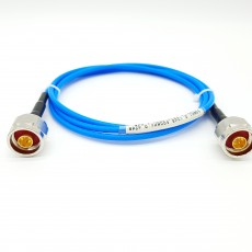 5.5GHz 0.7M MF402 N(M) to N(M) Flexible Cable Assembly 50옴