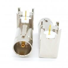 3GHz BNC(F)RA 4R 75ohm G-Receptacle PCB-Pin-2.4mm