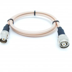 BNC(F)암컷-TNC(M)R.P(역심형) RG-400 40Cm Cable Assembly-50옴