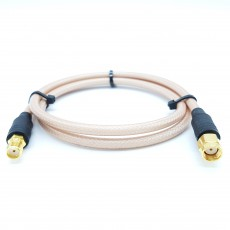 SMA(F)암컷-SMA(M)R.P(역심형)암컷 RG-400 Cable Assembly-50옴