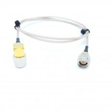 SMA(M)(수컷)-SMA(M)RA(수컷) RG-178 10Cm Cable Assembly-50옴