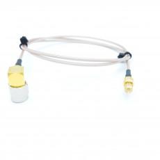 SMA(M)RA(수컷)-MCX(M)(수컷) RG-178 10Cm Cable Assembly-50옴