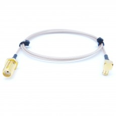 SMA(F)BH(암컷)-MCX(M)RA(수컷) RG-178 10Cm Cable Assembly-50옴