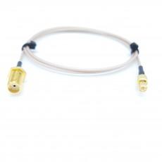 SMA(F)BH(암컷)-MCX(M)(수컷) RG-178 10Cm Cable Assembly-50옴