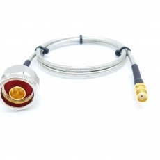 N(M)수컷-SMA(F)암컷 SF141 Cable Assembly-50옴