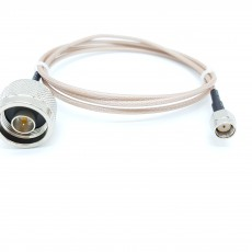 N(M)수컷-SMA(M)R.P암컷(역심형) RG-316/S 10Cm Cable Assembly-50옴