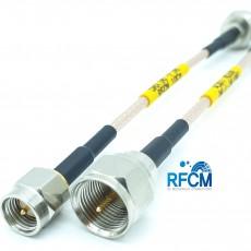 F(M)수컷-SMA(M)수컷-10Cm RG-316/S Cable Assembly / 50옴