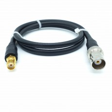 SMA(F)암컷-BNC(F)암컷 RG-58 Cable Assembly-50옴