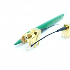 SMA(F)RA-4R-MHF4 PIug 30mm Cable Assembly (Gold)
