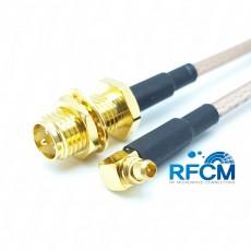 안테나 변환 케이블 RP-SMA(F)B/H to MMCX(M)R/A
