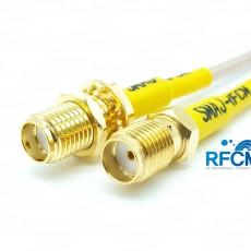 SMA(F)암컷-SMA(F)BH암컷 RG-316/S Cable Assembly 50옴