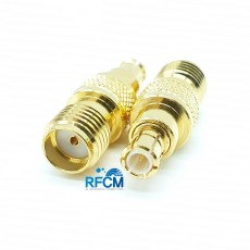 MCX(M)수컷 SMA(F)암컷 50ohm ADAPTOR DC~6GHz