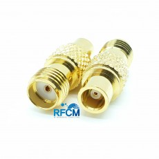 MCX(F)암컷 SMA(F)암컷 50ohm ADAPTOR DC~6GHz