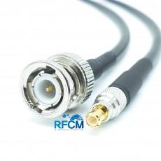 BNC(M)수컷-MCX(M)수컷 RG-58 Cable Assembly-50옴