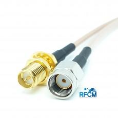 안테나 변환 케이블 RP-SMA(F)BH to RP-SMA(M)ST