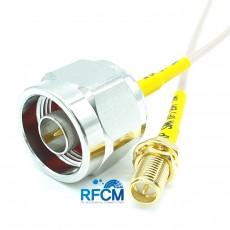 안테나 변환 케이블 N(M)수컷-RP SMA(F)BH수컷 RG-316/S Cable Assembly 50옴