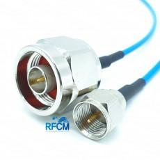 N(M)수컷-F(M)수컷 for SS405 Cable Assembly/50옴