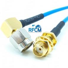 SMA(M)R/A수컷-SMA(F)B/H암컷 for SS405 Cable Assembly/50옴