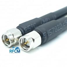 SMA(M)수컷-SMA(M)수컷 HF300(LMR300) 1m Cable Assembly-50옴