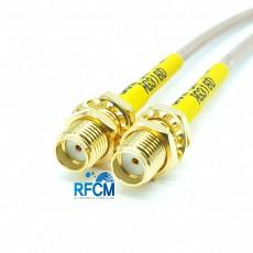 SMA(F)BH암컷-SMA(F)BH암컷 RG-316/S Cable Assembly 50옴