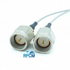 SMA(M)ST-SMA 50mm Cable Assembly(Nickel-Gold)