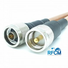 N(M)수컷-M(M)수컷 RG393 1m Cable Assembly-50옴