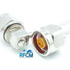 N(M)RA수컷-N(M)ST수컷 SF141 Cable Assembly-50옴