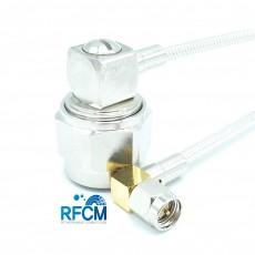 N(M)RA수컷-SMA(M)RA수컷 SF141 Cable Assembly-50옴