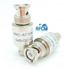 BNC 5dB 1W Fixed Attenuator